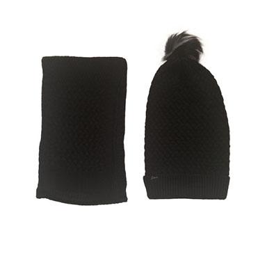 نمایش تصویر ست کلاه و شال گردنی بافتنی سیلکا هدیه شب یلدا برای آقایان