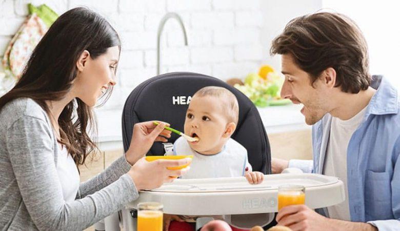 نمایش تصویر شاخص صندلی غذاخوری کودک گل بچین