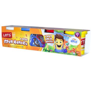 نمایش تصویر خمیر بازی لتس خمیر بازی کودکان گل بچین