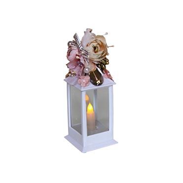 نمایش تصویر شمع ال ای دی مدل رز کادو ولنتاین گل بچین