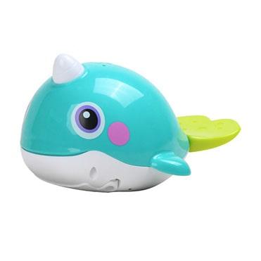 نمایش تصویر اسباب بازی حمام هولا مدل نهنگ هدیه کودکان یک تا سه ساله گل بچین