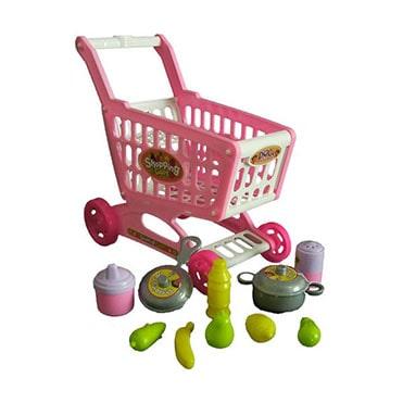 نمایش تصویر اسباب بازی چرخ خرید هایپر مدل دورا هدیه کودکان یک تا سه ساله گل بچین