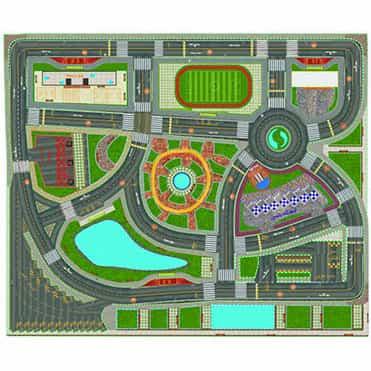 نمایش تصویر بازی آموزشی مدل شهر ترافیک کد sk 120 هدیه کودکان چهار تا شش ساله گل بچین
