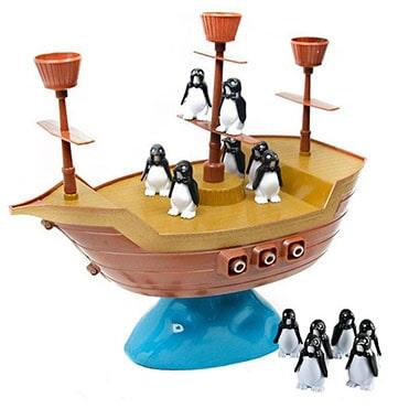 نمایش تصویر بازی فکری طرح کشتی دزدان دریایی مدل Pirate Boat هدیه کودکان چهار تا شش ساله گل بچین