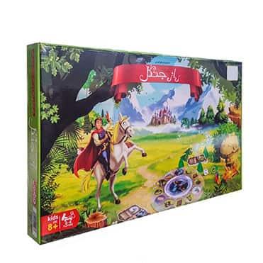 نمایش تصویر بازی فکری فکرآوران طرح راز جنگل مدل Magical کادو تولد برای دختر گل بچین