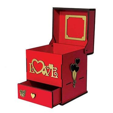 نمایش تصویر جعبه-هدیه-لوکس-باکس-کد-LB201 هدیه شب یلدا برای خانم ها گل بچین