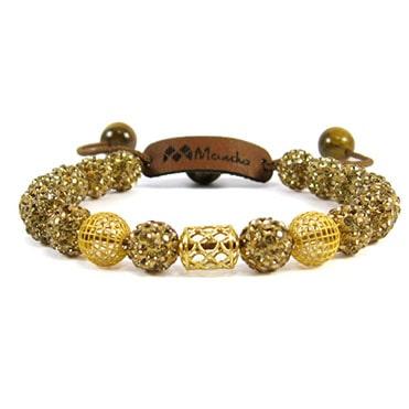 نمایش تصویر دستبند طلا 18عیار مانچو چه هدیه ای خانم ها را خوشحال میکند گل بچین