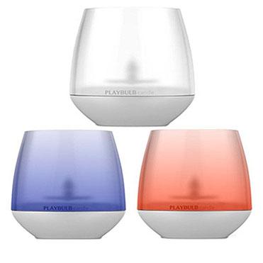 نمایش تصویرشمع هوشمند مایپو مدل Playbulb بسته 3 عددی هدیه شب یلدا