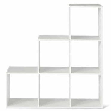 نمایش تصویر قفسه-کتاب-سرو-چوب-مدل-1-2-3-Cube کادو برای خانه جدید عروس و داماد گل بچین