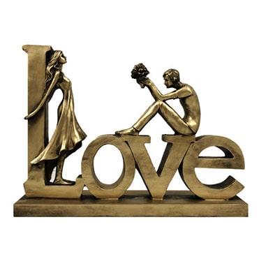 نمایش تصویر مجسمه-مدل-عشق هدیه سالگرد ازدواج گل بچین