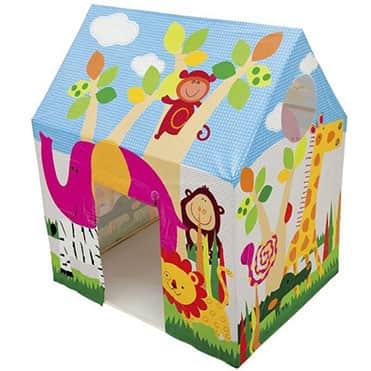 نمایش تصویر چادر بازی کودک هدیه کودکان چهار تا شش ساله گل بچین