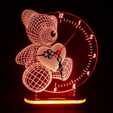 نمایش تصویر چراغ خواب بچگانه طرح خرس هدیه به کودکان هفت تا نه ساله گل بچین