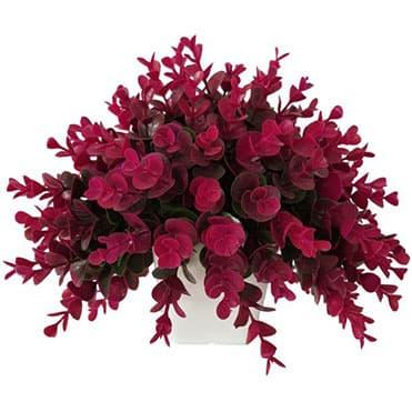 نمایش تصویر گلدان با گل مصنوعی چه هدیه ای خانم ها را خوشحال میکند گل بچین