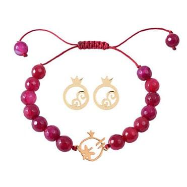 نمایش تصویر گوشواره-و-دستبند-طلا-18-عیار-مدل-یلدا-min هدیه شب یلدا برای خانم ها گل بچین