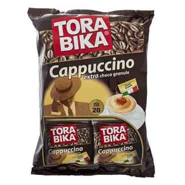 نمایش تصویر کاپوچینو ترابیکا مدل Cappuccino بسته 20 عددی بهترین هدیه به همکار گل بچین