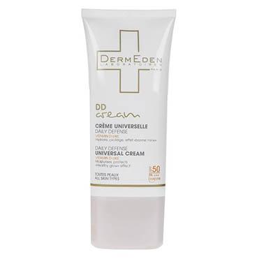 نمایش تصویر کرم محافظتی روزانه درمدن سری DD Cream Spf50 حجم 50 میلی لیتر محصولات مراقبت از پوست گل بچین
