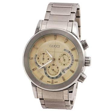 نمایش تصویر ساعت مچی عقربه_ای مردانه گوچی مدل 12096 هدیه لاکچری برای آقایان گل بچین