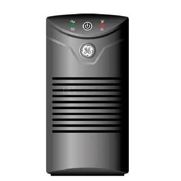 نمایش تصویر یو پی اس جنرال الکتریک مدل VCL400 با ظرفیت 400 ولت آمپر به همراه باطری داخلی بهترین یو پی اس UPS برق اضطراری گل بچین