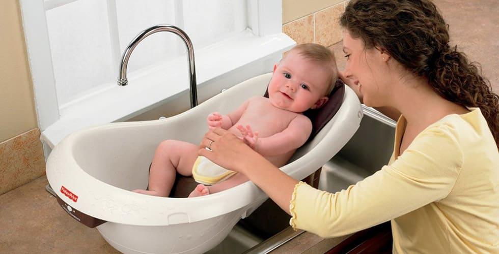 نمایش تصویر شاخص بهترین وان حمام کودک و نوزاد گل بچین