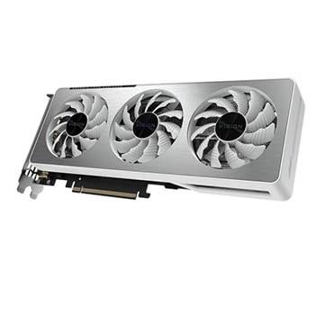 نمایش تصویر کارت گرافیک گیگابایت مدل GeForce RTX™ 3060 VISION OC 12G بهترین کارت گرافیک 1400 گل بچین