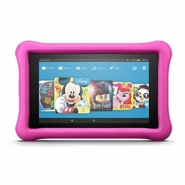 نمایش تصویر تبلت کودک آمازون مدل Fire HD 8 Kids Edition با ظرفیت 32 گیگابایت تبلت کودک و نوجوان گل بچین