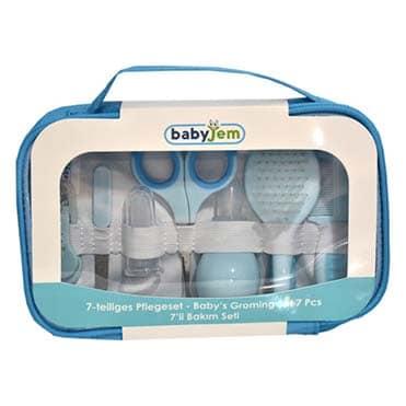 نمایش تصویر ست بهداشتی کودک بی بی جم مدل Bj615.1 کادو برای نوزاد پسر گل بچین