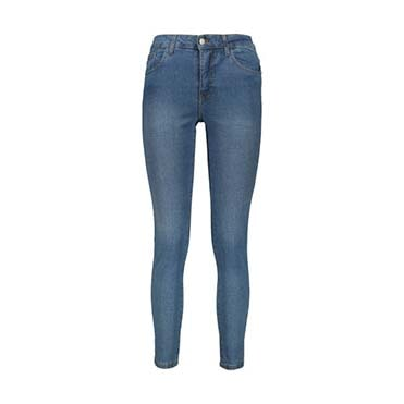 نمایش تصویر شلوار جین زنانه لیلیان مد مدل W0445003DM شلوار جین زنانه گل بچین