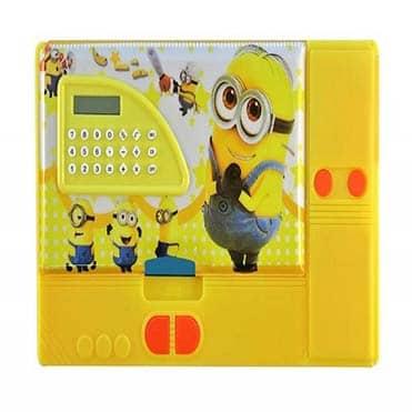 نمایش تصویر جامدادی مدل دکمه دار خرید لوازم التحریر ارزان گل بچین