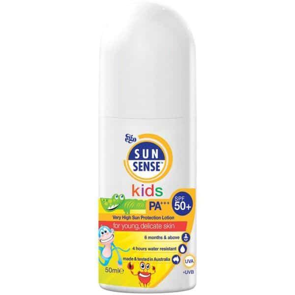 نمایش تصویر کرم ضد آفتاب کودکان سان سیف SPF30 مقدار 50 گرم کرم ضد آفتاب کودک گل بچین