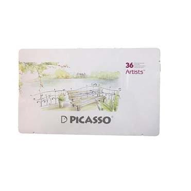 نمایش تصویر مداد رنگی 36 رنگ پیکاسو مدل آرتیست خرید لوازم التحریر ارزان گل بچین