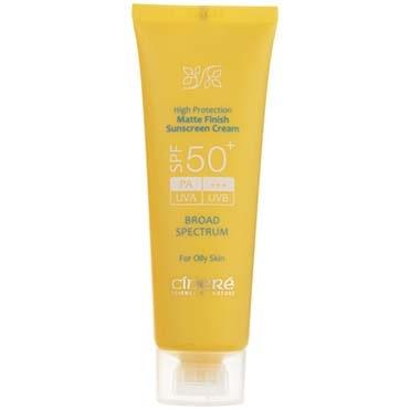 نمایش تصویر کرم ضد آفتاب سینره SPF50 حجم 50 میلی لیتر بهترین کرم ضد آفتاب گل بچین