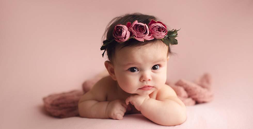 نمایش تصویر شاخص کادو برای نوزاد دختر گل بچین